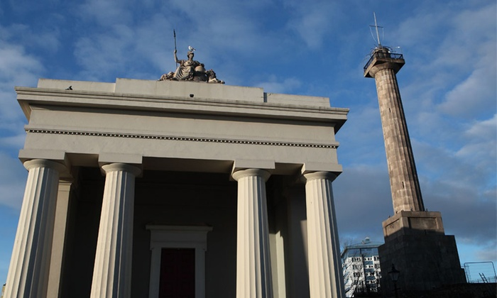 Devonport Guildhall and Column
