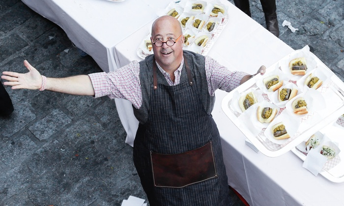 Food Network & Cooking Channel New York City Wine & Food Festival presented by FOOD & WINE - The Standard High Line: $75 for Top Dog Hot-Dog Cook-Off with Andrew Zimmern at New York City Wine & Food Festival ($110.50 Value)