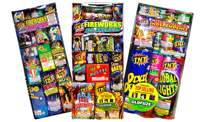 TNT Fireworks - Charlotte: $10 for $20 Worth of Fireworks at TNT Fireworks Stands & Tents