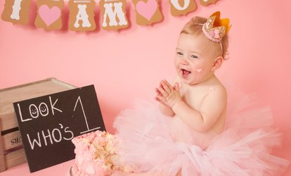 Cake Smash and Splash Photoshoot at Always Remember Photography (85% Off)