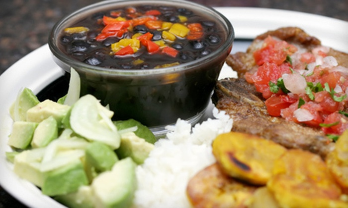 El Nuevo Frutilandia - Mission: $20 for Cuban and Puerto Rican Meal for Two with Sangria at El Nuevo Frutilandia (Up to $41.90 Value)