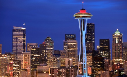 Stay with Parking at Warwick Seattle Hotel in Seattle. Dates into May.
