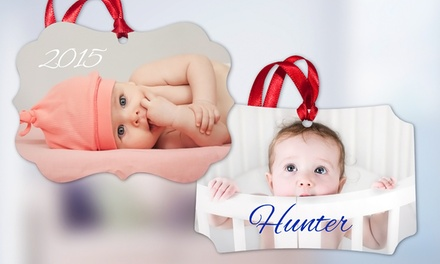 $5 for Custom Photo Ornament from MailPix ($15 Value)