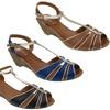 Zuka Tania Women's Small Wedged Sandal
