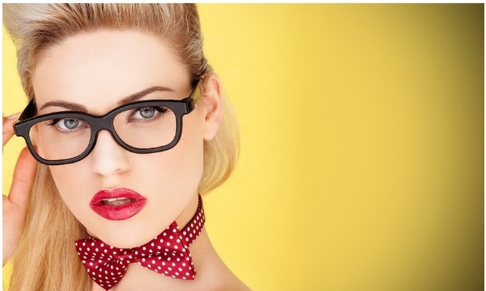 Pink Optical - Pink Optical: $33 for an Eye Glass and Contact Lens Package at Pink Optical ($325 Value)