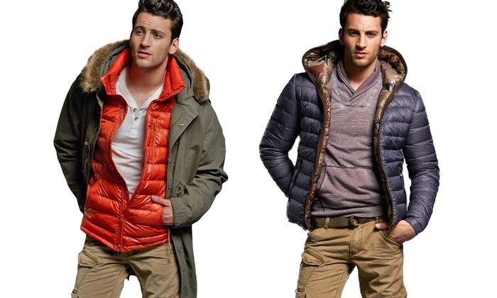 Jet Lag Men's Down Jackets | Groupon Goods
