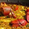 Menú de arroz con bogavante
