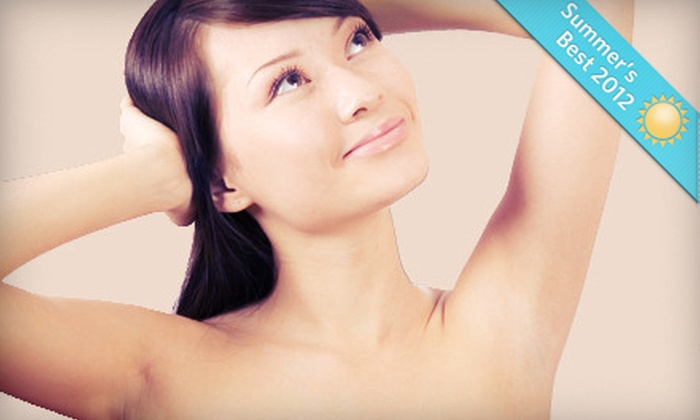 Age Management Institute - South Meadows: Three Laser Hair-Removal Treatments for a Small or Medium Area at Age Management Institute (Up to 75% Off)