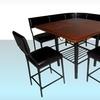 $549.99 for a Boraam 6-Piece Corner Nook Dining Set