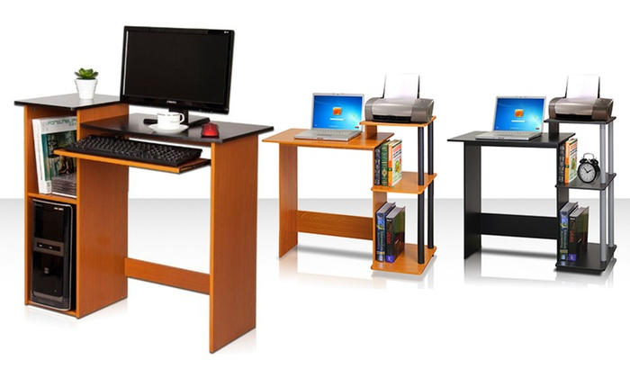 Furinno Computer And Laptop Desks Multiple Styles From 32 99