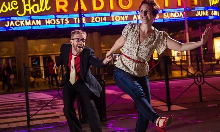 Let's Swing - Papaschase Industrial: Beginner Swing-Dancing Classes for One or Two at Let's Swing (Up to 68% Off)