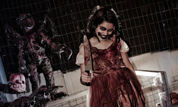 Dimensions of Darkness - Maumee: Haunted House for Two, Four, or Six with a Souvenir Photo at Dimensions of Darkness (Up to 59% Off)