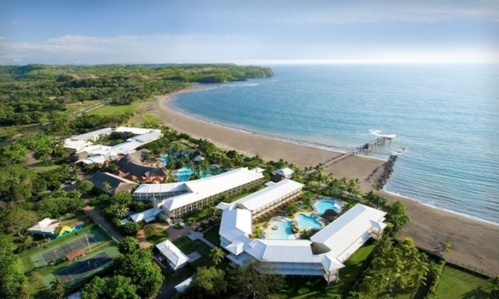 Costa Rican Doubletree With Private Beach