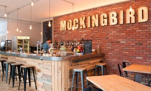 The Mockingbird Theatre and Bar: Cinema Party with Food and Cocktails for Ten or Fifteen at The Mockingbird Theatre and Bar (Up to 51% Off)