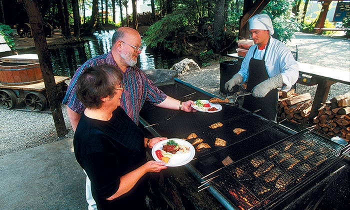 Alaska Travel Adventures, Inc. -  Gold Creek Salmon Bake: Gold Creek Salmon Bake for One, Two, or Four from Alaska Travel Adventures (Up to 52% Off)
