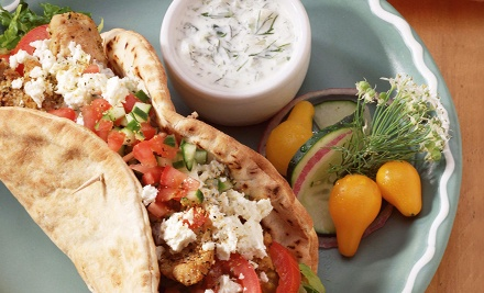 Mediterranean Cuisine at Mediterranean Grill (Up to Half Off). Two Options Available.