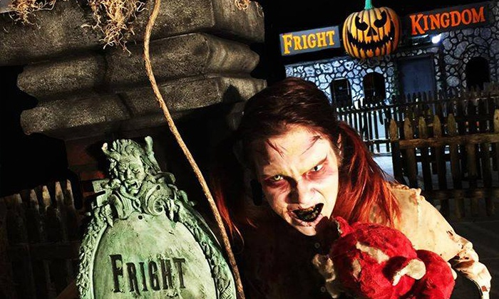 Fright Kingdom - Mine Falls Park: VIP Admission for Two to Fright Kingdom (Up to 22% Off)