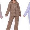 White Mark Women's Plus-Sized Flannel Pajamas