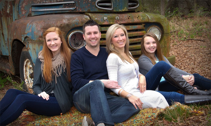 Portrait Creations - Charlotte: Outdoor Photo Shoot with $100 Order Credit from Portrait Creations (71% Off)