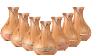 Amore Wood Grain Ultrasonic Essential Oil Diffuser