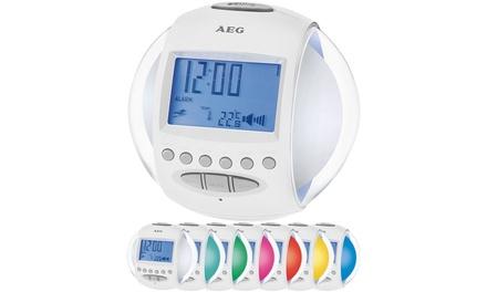 1 ou 2 radio réveils à couleurs changeantes AEG MRC 4117 dès 29,99 €