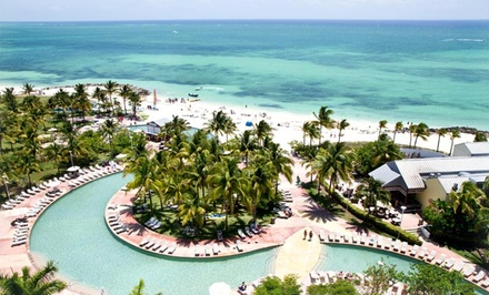 groupon daily deal - Stay at Grand Lucayan Beach & Golf Resort in the Bahamas. Dates into September.