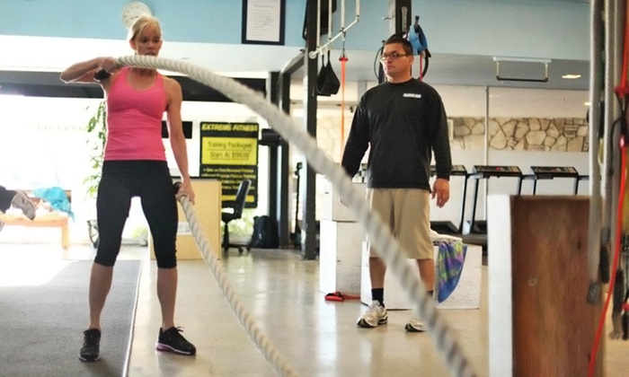 The Training Zone - Costa Mesa: 4, 8, or 12 Personal-Training Sessions at The Training Zone (Up to 78% Off)