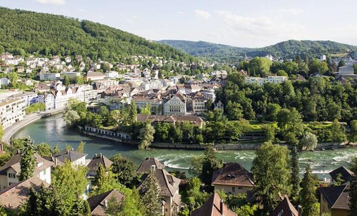 Baden: 2-4 Tage für Zwei inkl. Frühstück, WiFi und opt. 1x 3-Gänge-Dinner im 4* Hotel du Parc in der Schweiz