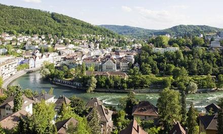 Baden: 1-3 Nächte für Zwei inkl. Frühstück, City-Ticket und opt. 1x 3-Gänge-Menü im 4* Hotel du Parc in der Schweiz