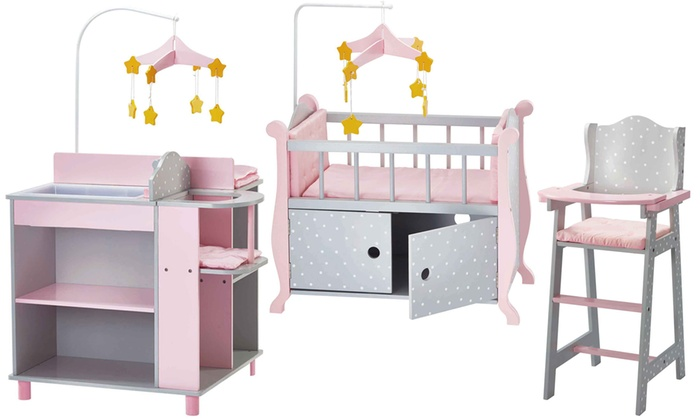 Oliviau0027s Little World Baby Doll Nursery-Room Furniture ...  sc 1 st  Groupon : nursery room chair - Cheerinfomania.Com
