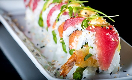 $25 for $50 Worth of Sushi and Japanese Food at Hive Sushi Lounge