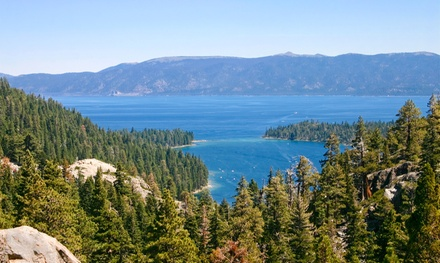 Stay with Two Welcome Drinks at 968 Park Hotel in South Lake Tahoe, CA. Dates into December.