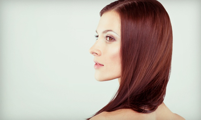 hair trim and brazilian blowout 4 dollz only salon groupon