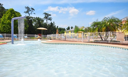 Stay at The Barefoot Suites in Kissimmee, FL. Dates into July.