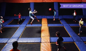 Sky Zone- Durham: Open-Jump Sessions or Exercise Classes at Sky Zone Durham (Up to 45% Off). Three Options Available.