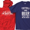 Men's Big and Tall Tailgating T-Shirts and Hoodies