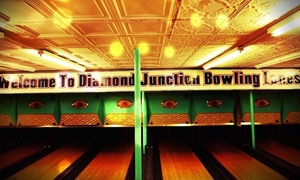 Diamond Junction Bowling Lanes: Two Hours of Bowling and Shoe Rental for Two, Four, or Six at Diamond Junction Bowling Lanes (Up to 47% Off)