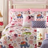 7- or 9-Piece Reversible-Comforter Set with Sheets