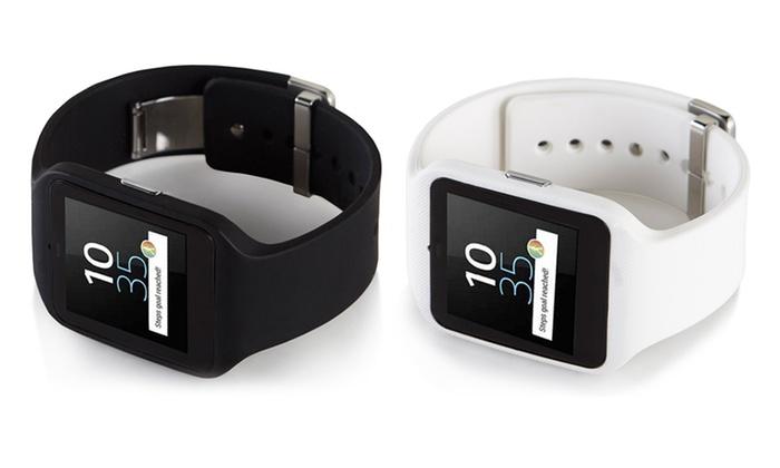 sony smartwatch 3 groupon goods. Black Bedroom Furniture Sets. Home Design Ideas