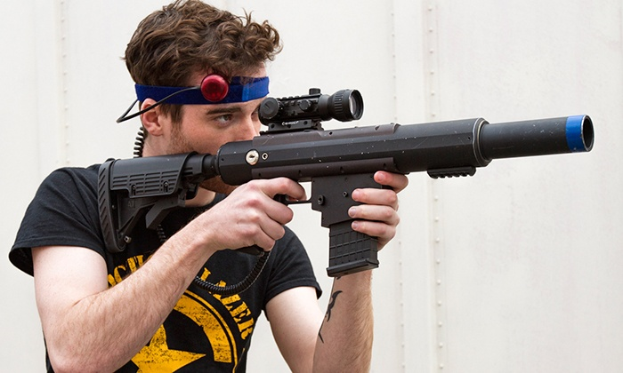 CMP Tactical Lazer Tag - Mitchell West: Laser-Tag Session or Party Package at CMP Tactical Lazer Tag (Up to 55% Off). Four Options Available.