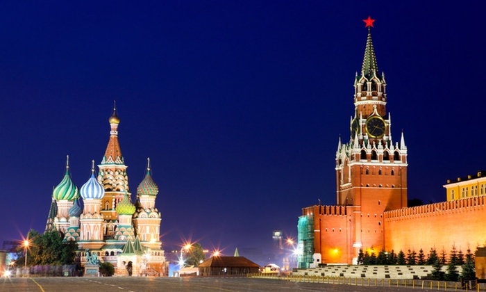 Tour of Russia with Airfare: 8-Day Tour of Russia with Airfare from Gate 1 Travel