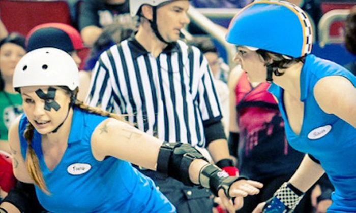 Rat City Roller Girls - Key Arena: Rat City Roller Girls Roller-Derby Event for Two or Four at KeyArena on July 13 or August 10 (Up to 54% Off)