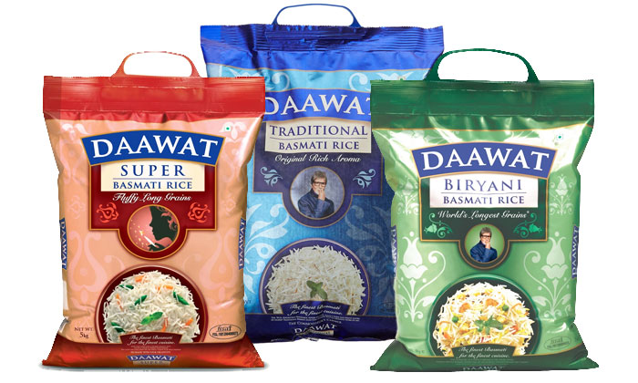 From Rs.425 for a 5KG Daawat Rice Packet. Choose from 6 Options