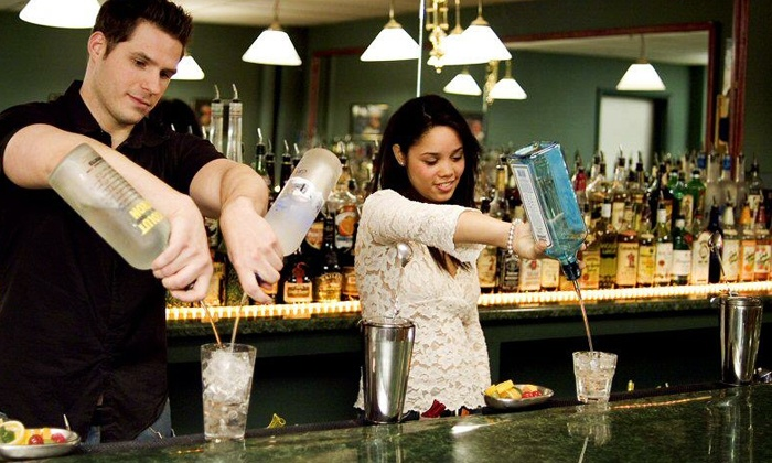 DrinkMaster Bartending School - Multiple Locations: $345 for a Weeklong Bartending-Certificate Course at DrinkMaster Bartending School ($445 Value)