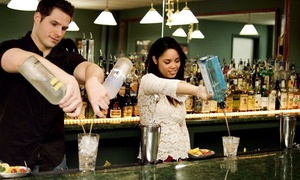 DrinkMaster Bartending School: $345 for a Weeklong Bartending-Certificate Course at DrinkMaster Bartending School ($445 Value)
