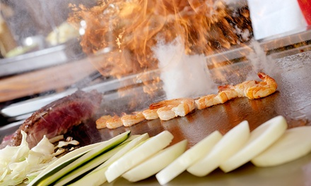 $69 for a 10Dish Teppanyaki Feast for Two at Burwood Teppanyaki House Up to $130 Value
