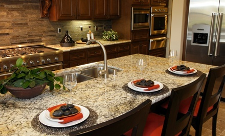 40 Square Feet of Granite or Quartz Countertop, Including Installation, from Ultimate Stone (57% Off)