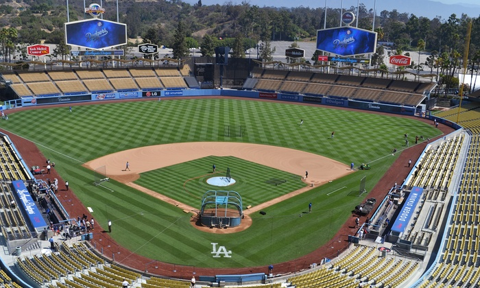 Los Angeles Dodgers vs. San Francisco Giants - Dodger Stadium: $325 for a Dodgers vs. Giants Game and Exclusive VIP Experience at Dodger Stadium on Saturday, June 20 ($525 Value)