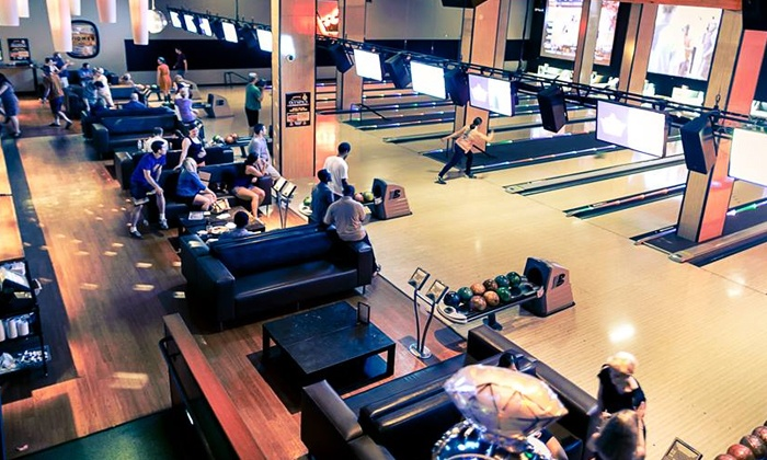 Grand Central Bowling Lounge - Grand Central Restaurant & Bowling Lounge: $30 for Eight Games of Bowling with Shoes & Arcade Play at Grand Central Bowling Lounge ($62 Value)