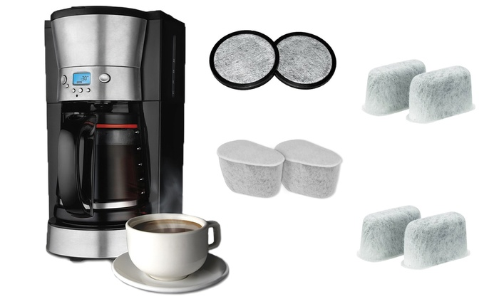 Coffee Maker Charcoal Filter Replacement : Filters for Coffee Makers (6pk.) Groupon Goods